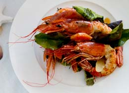 Specialises in seafood